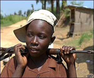 El reclutamiento de niños y niñas, considerado crimen de guerra por la corte especial para Sierra Leona