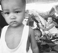 Secuestros de niños tras el Tsunami